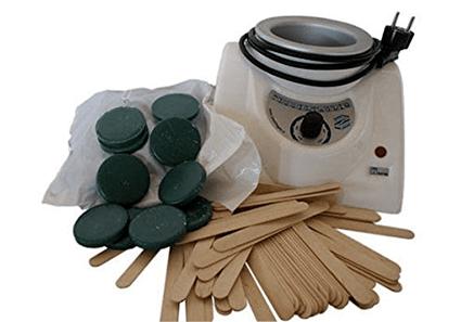 Kit complet pour épilation à la cire verte