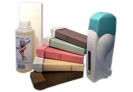 Kit solo complet aux différents parfums de cire